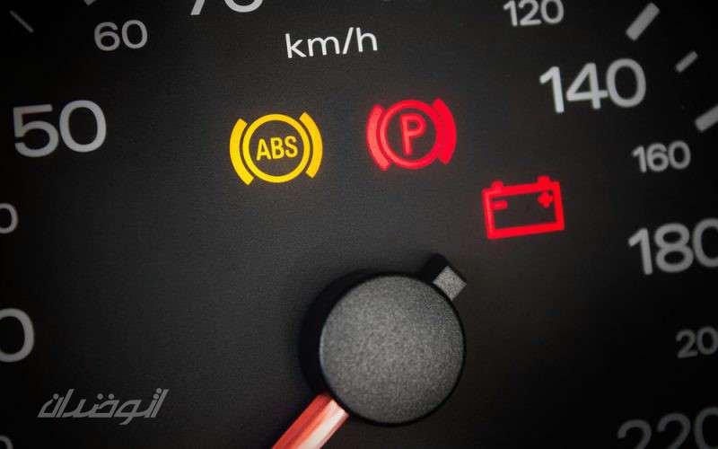چراغ ABS روشن